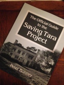 Peter Bonner's book - The Official Guide to the Saving Tara Project